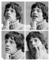 Mick Jagger, four portraits, London, May 1966