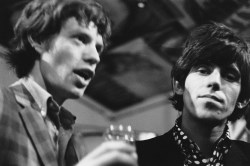 Mick Jagger et Keith Richards, Londres, mai 1966