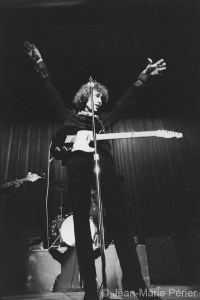 Bob Dylan on stage, England, June 1966