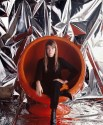 Françoise Hardy, ball chair, novembre 1966
