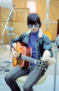 Keith recording at RCA Studios, Hollywood, 1965