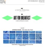 Art for Breakfast, 25 avril 2016