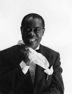 Louis Armstrong, portrait 2, around 1950