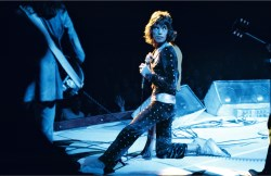 Mick Jagger on stage, Pittsburgh, USA, 1972