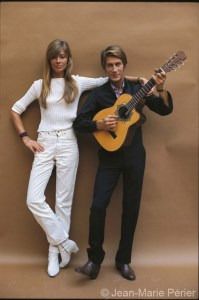 Françoise Hardy and Jacques Dutronc, Paris, August 1967