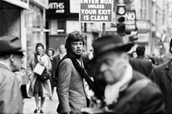 Mick Jagger, streets of London, March 1965