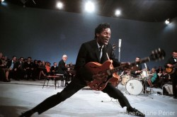 Chuck Berry on stage, USA, October 1964