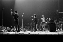 The Rolling Stones on stage, USA,